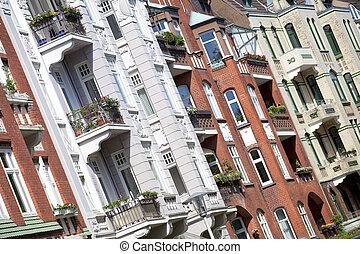 здание, германия, изобразительное искусство, nouveau, киль