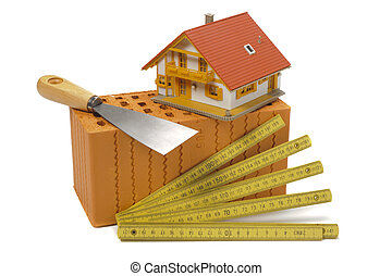 здание, дом, инструменты