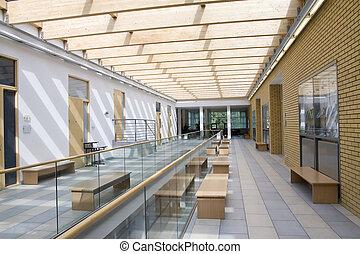 здание, интерьер, современное
