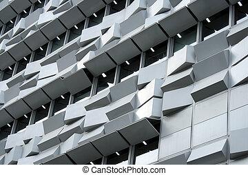 здание, лиссабон, современное, подробно, португалия