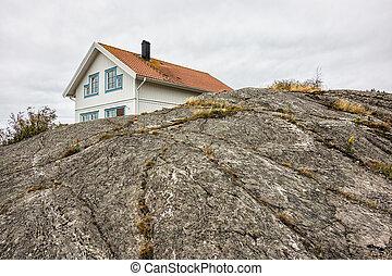 здание, на, камень