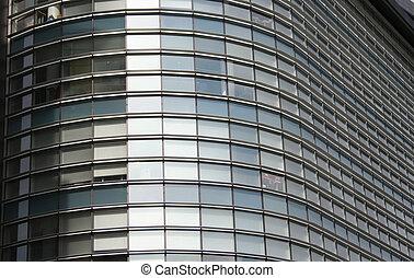 здание, окна, офис