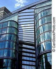 здание, подробно, офис
