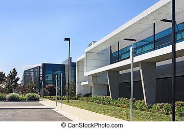 здание, промышленные, современное
