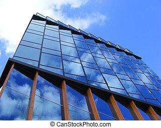 здание, современное