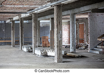 здание, старый