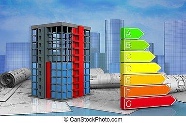 здание, строительство, 3d