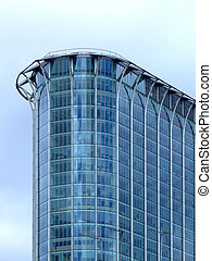 здание, угол, стакан