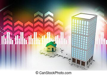 здание, constructions, 3d