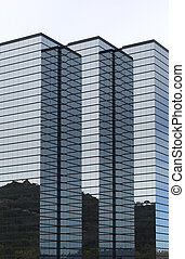 здание, hi-rise, современное, корпоративная, офис