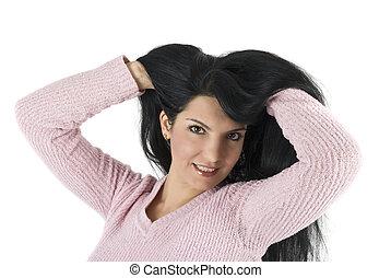 здоровый, волосы