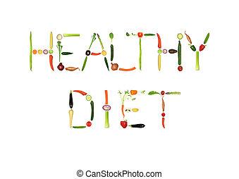 здоровый, диета