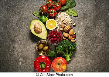 здоровый, питание