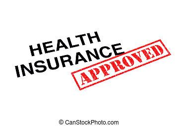 здоровье, страхование, утвержденный