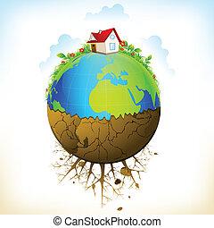 земля, distruction