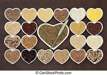 зерно, питание, пробоотборник