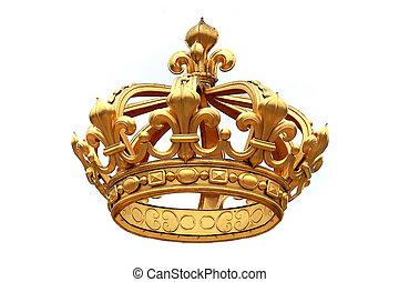 золотой, корона