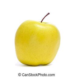 золотой, яблоко