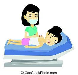 иглоукалывание, изготовление, иглотерапевт, врач, therapy.
