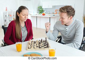 игра, шахматы