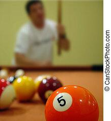игра, of, бассейн