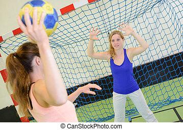 игра, of, гандбол