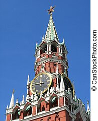 известный, кремль, башня
