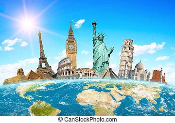 известный, monuments, of, , мир