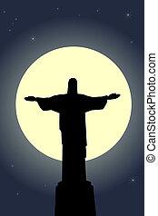 иисус, христос, статуя