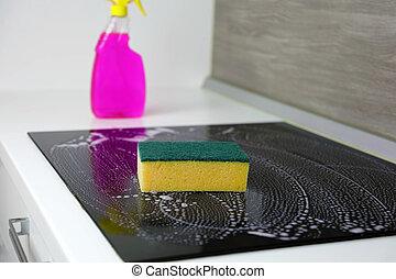 индукционный, sponge., втулка, уборка
