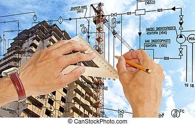 инжиниринг, строительство, designing