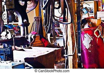 инструменты, металл