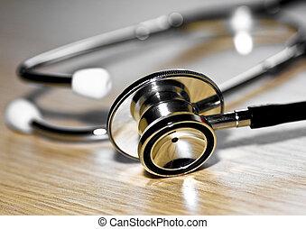 инструмент, медик, стетоскоп
