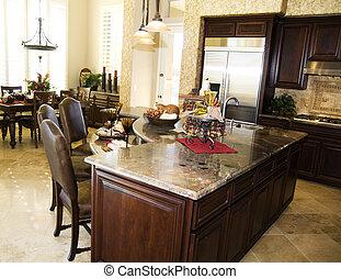 интерьер, дизайн, кухня