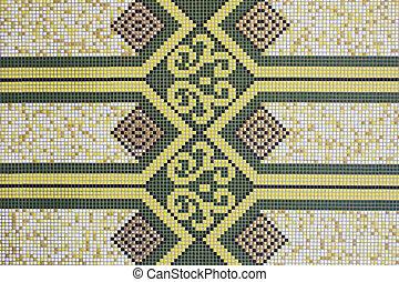 исламский, геометрический, дизайн