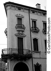 итальянский, архитектура