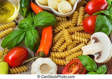 итальянский, питание