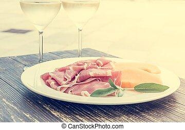 итальянский, food.
