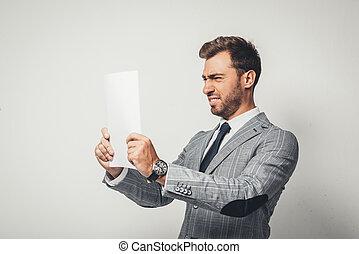 ищу, бизнесмен, бумага