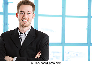 кавказец, бизнесмен