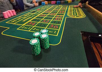 казино, игорный, and, развлекательная программа, концепция