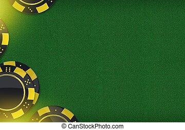 казино, игра, копия, пространство