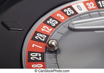 казино, рулетка, подробно, with, мяч, в, номер, seven., игорный