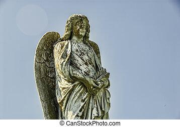 камень, ангел