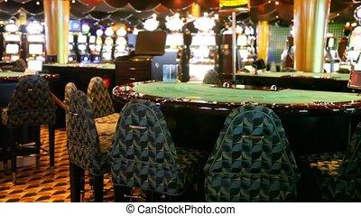 карта, таблица, of, пустой, казино, and, слот, machines, за
