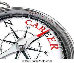 карьера, компас