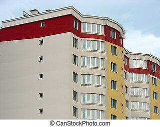 квартира, просто, дом, законченный, роскошь, новый