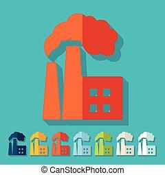 квартира, design:, завод, pipes