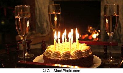 кекс, день рождения