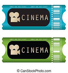 кино, билет